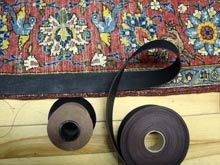 Rug Repair in Thornhill (support binding)